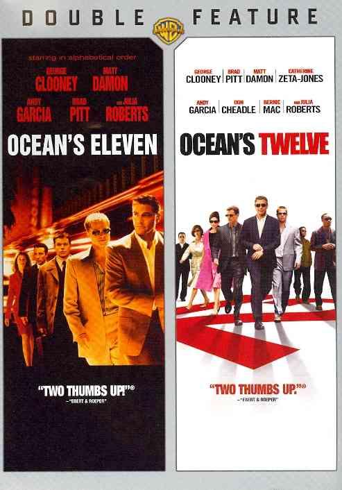 OCEAN'S ELEVEN/OCEAN'S TWELVE BY CLOONEY,GEORGE (DVD)